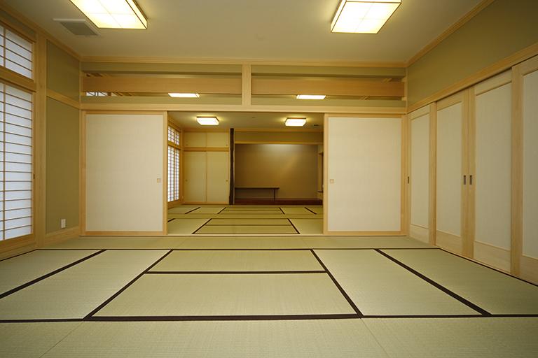 信澄寺 内観 - 江戸川区の伊藤工務店
