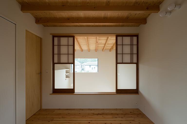 清瀬の家 洋室 - 江戸川区の伊藤工務店