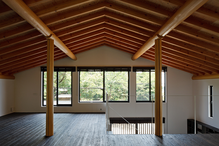 鎌倉山の家 リビング - 江戸川区の伊藤工務店